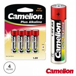 Pilha Alcalina Lr6/AA 1.5V 4X Blister Camelion