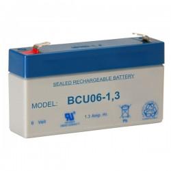 Bateria Chumbo 6V 1.3A