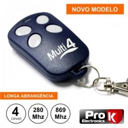 Telecomando Garagem Universal 4 Canais 280.00/869.30Mhz Prok