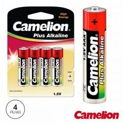 Pilha Alcalina Lr03/AAA 1.5V 4X Blister Camelion
