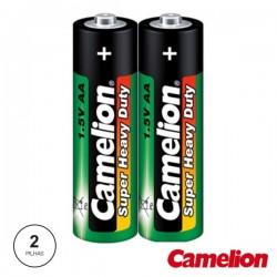 Pilha Zinco-Carvão Lr6-AA 1.5V 2X Camelion
