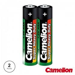Pilha Zinco-Carvão Lr03/AAA 1.5V 2X Camelion