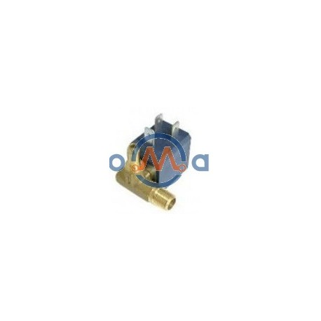 Electrovalvula Gerador Vapor 1/8 90º Esq 3.5Bar