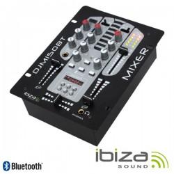 Mesa de Mistura 5 Canais MP3 USB/BT - Ibiza