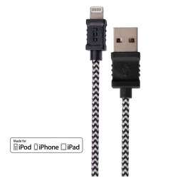 Cabo USB - micro USB para iPhone, iPad e iPod 1M - DCU