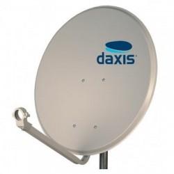Antena Parabólica 100cm OFFSET - Ferro estrutura metálica - Daxis