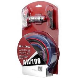 Kit Cabos Auto Radio Audio + Alimentação BLOW AW100