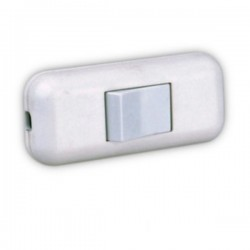 Interruptor de Passagem Bipolar 2A 250V Branco Edh