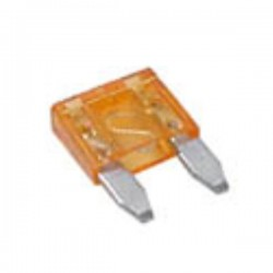 Fusível de Automóvel Mini 5A Laranja Velleman