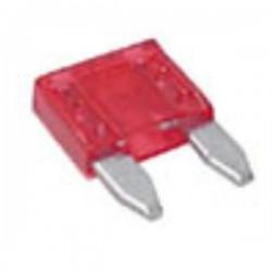 Fusível de Automóvel Mini 10A Vermelho Velleman