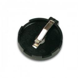 Porta Pilhas p/ Baterias de Lithium Cr2425 Ø 23.88mm
