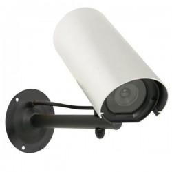 Câmara Vigilância Falsa c/ LED Resistente A Intemperie