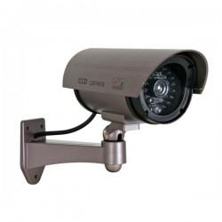 Câmara Vigilância Falsa c/ LED Ir E LED Vermelho