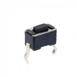 Interruptor Micro Switch On-Off 3.5x6x(5)mm, 2p horizontal