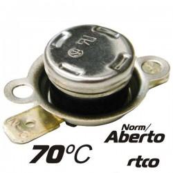 Protector de Circuito Térmico Norm/Aberto 70ºc Velleman