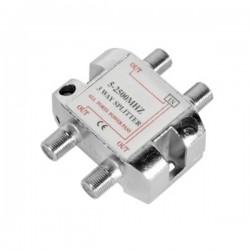 Repartidor c/ 3 Vias 5-2500Mhz