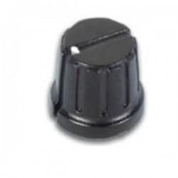 Botão Preto c/ Ponto Branco 20.8X6mm