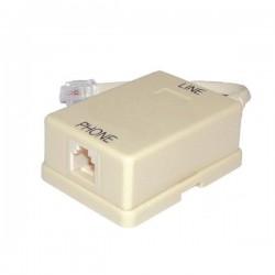 Filtro Adsl Simples 6P2C