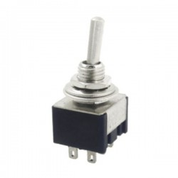 Interruptor Alavanca On-Off-On 10A 250V