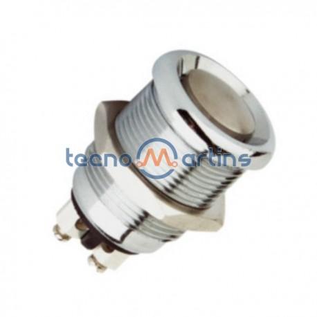 Interruptor de Pressão Redondo em Metal Off-On 2A 250V Edh