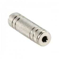 Ficha Adaptadora Jack 3.5mm Fêmea St / Jack 3.5mm Fêmea St União Metal
