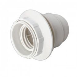 Casquilho p/ Lâmpada E27 Branco