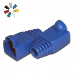 Capa Protectora p/ Conector Rj45 Azul