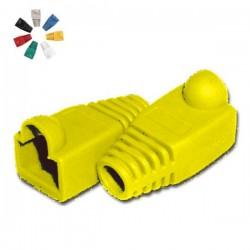 Capa Protectora p/ Conector Rj45 Amarelo