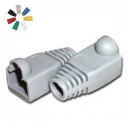 Capa Protectora p/ Conector Rj45 Cinzento