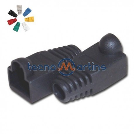Capa Protectora p/ Conector Rj45 Preto