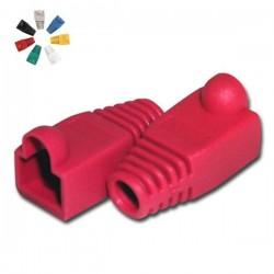 Capa Protectora p/ Conector Rj45 Vermelho