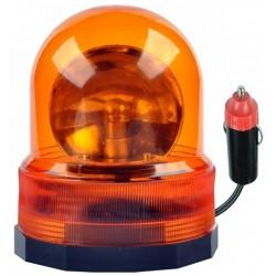 Sinalizador Rotativo Magnetico 24v Laranja
