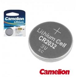 Pilha Lithium Botão Cr2032 3V 220Ma Blister Camelion