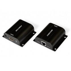 Extensor HDMI até 60m via Cabos Rede Cat6/6a/7 - FoneStar 7934
