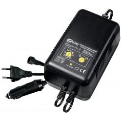 Carregador de Baterias NiCd/NiMH de 2-10 elem. (230VAC/12VDC)