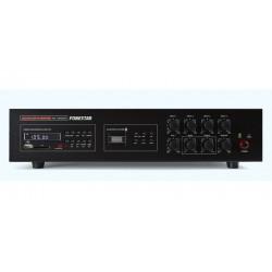 Amplificador de Megafonia com Gravador/Leitor USB/SD/MP3, Sintonizador Digital FM e Recetor Bluetooth 120 W RMS - FONESTAR