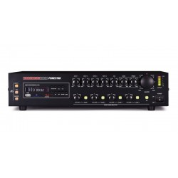 Amplificador de Megafonia com Gravador/Leitor USB/SD/MP3 e Seletor de Zonas. 360 W Máximo, 240 W RMS - FONESTAR