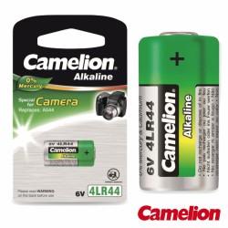 Pilha Alcalina 4Lr44 6V 165Ma Blister Camelion