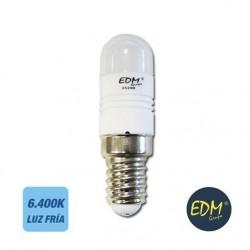 Lâmpada LED E14 230V 2.5W Leds Smd Branco Frio 6400k 220Lm - Edm
