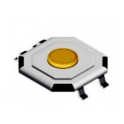 Switch SMD 5.2x5.2x(1.5)mm 12VDC 50mA