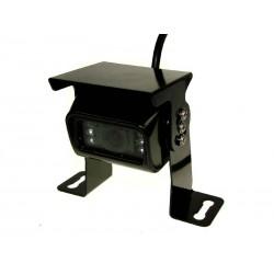 Câmara de Estacionamento p/ Automóvel 1/4'' CMOS 420TVL IP67 c/ 6 LEDs - Preta