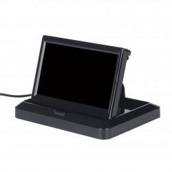 Monitor LCD 4.3'' 4:3 rebatível para automóvel 12VDC