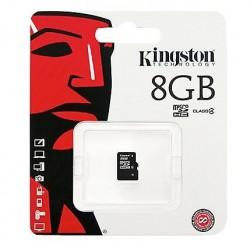 Cartão de Memória MicroSDHC 8Gb Kingston