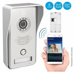 Vídeo Porteiro WI-FI e RJ45 para Smartphone