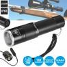 Lanterna Alumínio C/ LED T6 ZOOM Botão Extens. 1000LM IP68