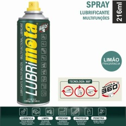 Spray Lubrificante Multifunções 216ML - LUBRIMOTA