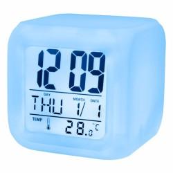 Relógio Despertador Digital 2 Alarmes e Calendário