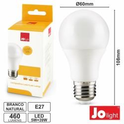 Lâmpada LED E27 Globo 12v/24v 5W-39W 4000k 460lm Branco Natural
