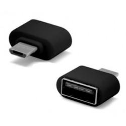 Ficha Adapt. Usb A Femea / Usb Macho Micro OTG - Mini