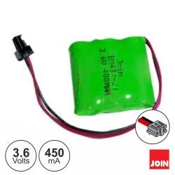 Bateria NI-MH 4/5AAA 3.6V 450ma - JOIN